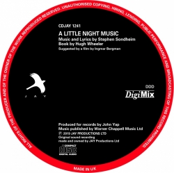 A Little Night Music [DigiMix Remastered] 2019 DISC ONLY, DigiMix Remaster 2019 (REPLACEMENT CD)