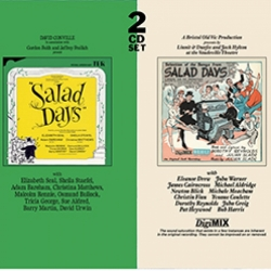 Salad Days (double CD incl DigiMIX of Original London Cast Recording), Original 2014 London Cast  AND DigiMIX Original London Cast Recording