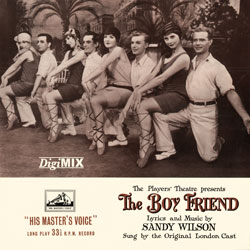 The Boy Friend 1954 Cast Recording