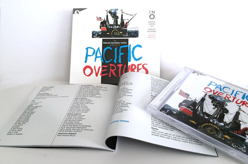Pacific Overtures packaging